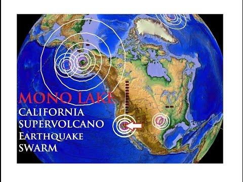 9/25/2014 -- California SUPERVOLCANO Earthquake Swarm -- Mono Lake / Mammoth Mountain