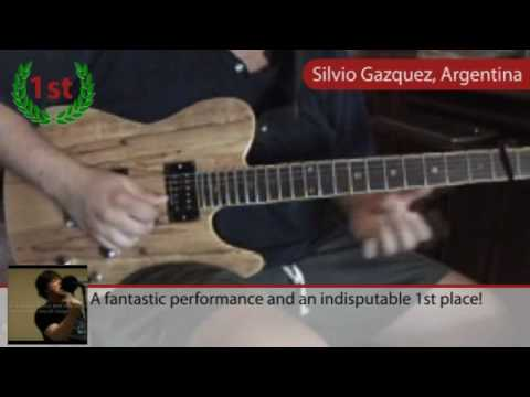 Guitar Solo Contest: Judges´ TOP 3 picks