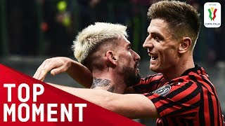 Piątek Ends His Goal Drought! | Milan 3-0 Spal | Top Moment | Coppa Italia