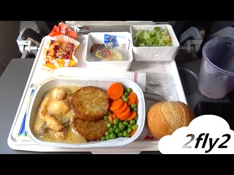 SWISS AIRLINES AIRBUS A330-300 ZURICH-NEW YORK ECONOMY CLASS
