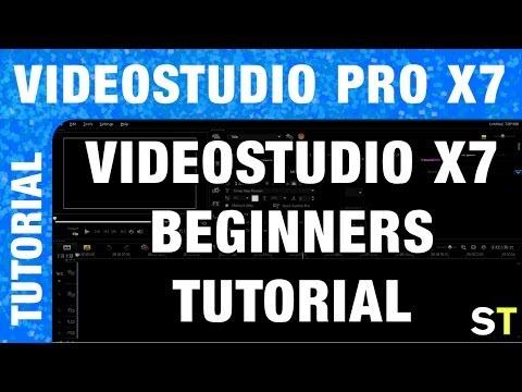 Corel VideoStudio Pro X7 Tutorial for Beginners