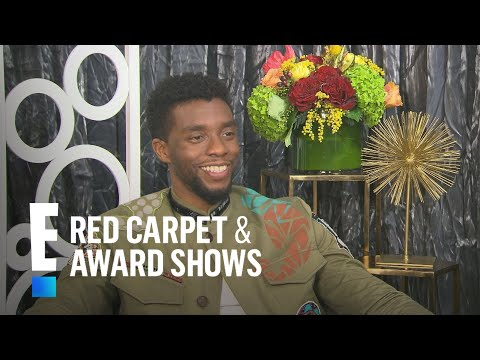 Chadwick Boseman: It's Not Hard to Love Lupita Nyong'o | E! Live from the Red Carpet
