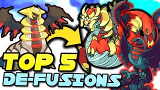 Top 5 Coolest Pokemon Defusions - New Type of Pokemon Fusion! (Part 3)