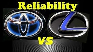 Lexus vs Toyota Reliability - Can Anyone Beat Toyota?