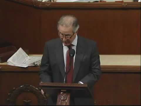 Congressman Richard E. Neal Speaks on Extending New Markets Tax Credits