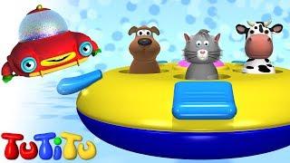 TuTiTu Toys   Pop-up Animals Toy