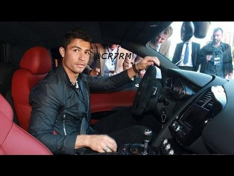 Real Madrid Ronaldo Receives a Audi R8 2011