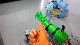 Animatronic Robotic Arm with Haptic Feedback: Final Year Electronics Project