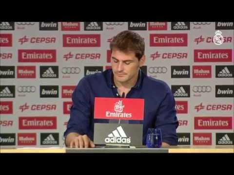 Declaración de Iker Casillas