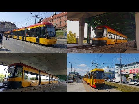 Tramwaje W Warszawie 2017 | Trams In Warsaw 2017