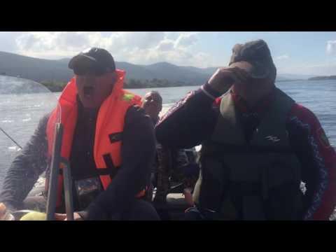 подледная рыбалка на красноярском море