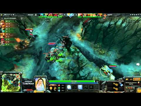 Mousesports vs RoX KIS Game 3 - Russian DOTA2 League - TobiWan