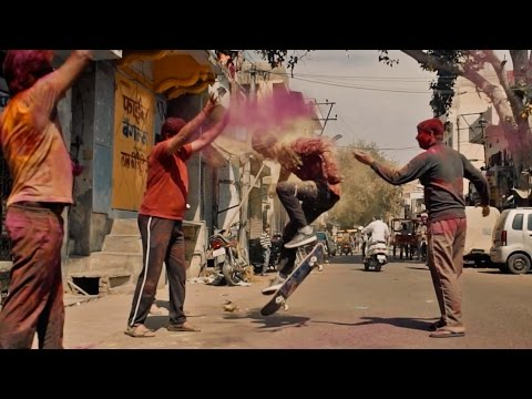 The Rajput Ride: Skating the Indian Holi Festival | Part 1
