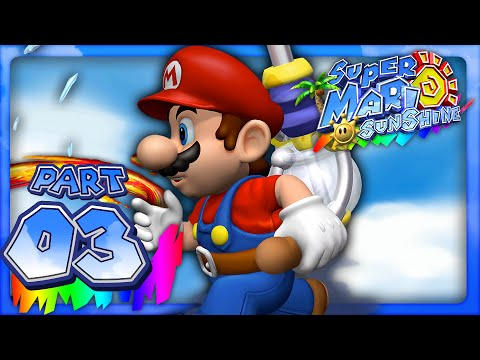 Super Mario Sunshine - Part 3- Shadow Mario on the Loose (Dolphin HD)