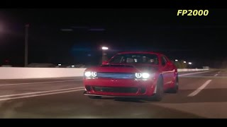 Demon Unleashed Challenger SRT Demon Dodge Revealed on track