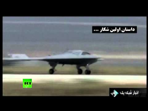 Video: Iran TV shows 'proof' US RQ-170 Sentinel drone decoded