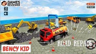 Trò Chơi Tư Duy - Sửa Đường Xe Oto - Game Thinking Road Repair