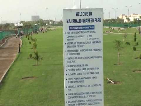 MAJOR KHALID SHAHEED PARK PHASE 8 DHA KARACHI PAKISTAN DEFENCE PROPERTY REALESTATE