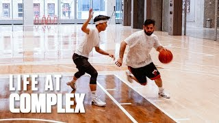 1V1 BASKETBALL BATTLE - QIAS OMAR vs TONY MUI | #LIFEATCOMPLEX