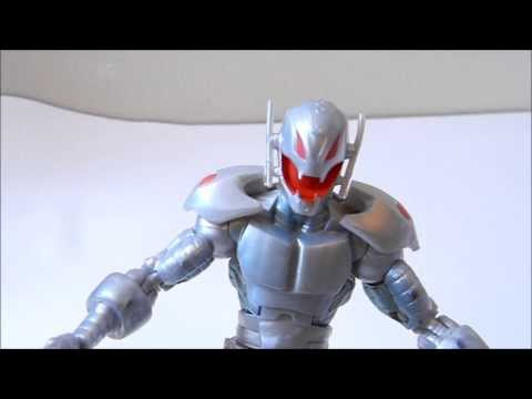 Marvel Legends Ultron action figure review - Iron Man (Iron Monger Wave)