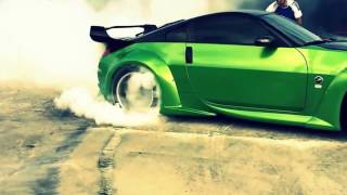 350z Burnout - Slow Motion!!!