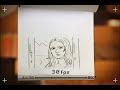 Animation vs. Animator - Matrix style flipbook animation