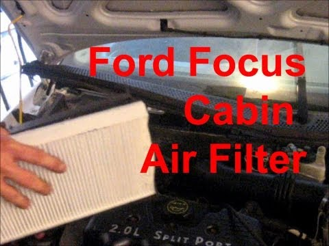 Cabin Air Filter Replacement 2002 Ford Focus