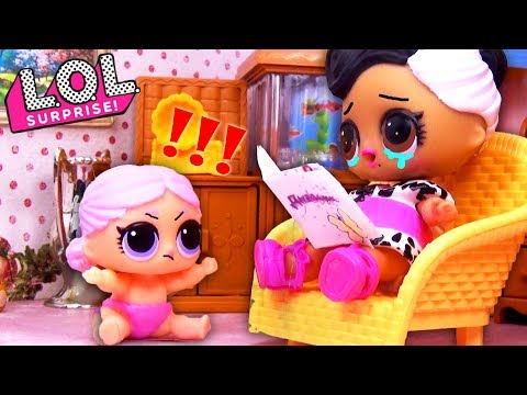 #Куклы ЛОЛ НЕ ПОСЛУШАЛАСЬ БАБУШКУ Мультики #Игрушки LOL Surprise Видео для детей Мастерская Барби