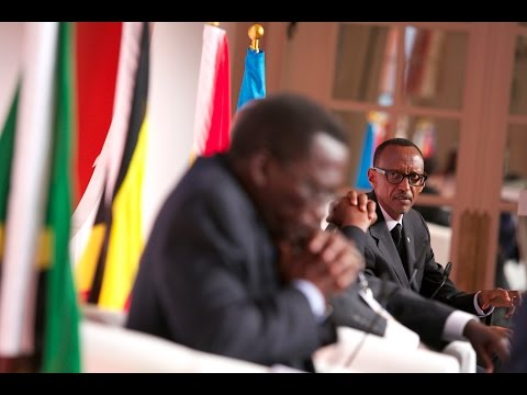 President Kagame at Global African Investment Summit- London, 20 October 2014