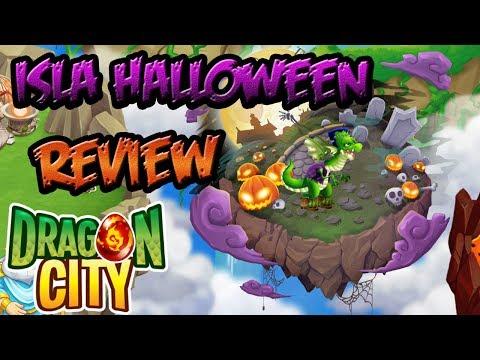 Isla Halloween - Review - Dragón City