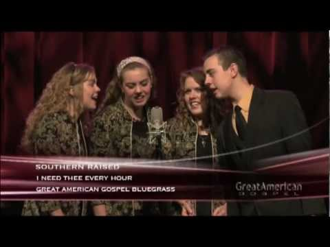 Southern Raised Sings i Need Thee Every Hour A Cappella video