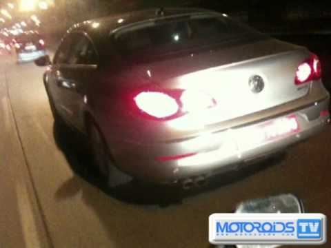 2010 Volkswagen Passat CC caught on test in India - Motoroids.com