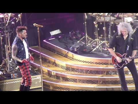 Queen And Adam Lambert 14 1 15  Glasgow Hydro Crazy Little Thing Called Love video