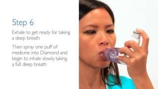 Philips Respironics OptiChamber Diamond with LiteTouch mask