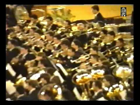 Certamen Valencia 1993 - (3/4) - CIM La Armonica de Buñol - Belkis, Reina de Saba - O. Respighi