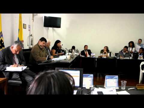 Intervención de la Alcaldesa Local, Marisol Perilla Gómez, En la JAL de Suba 12 de julio de 2013
