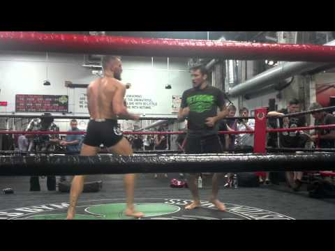 Connor McGregor grappling workout Image 1
