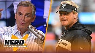 Colin breaks down Week 11 of the NFL season using the 3-word game   NFL   THE HERD