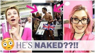 Travel Nail Vlog London | HE'S NAKED??!! | OLYMPIA BEAUTY | LIGHT ELEGANCE