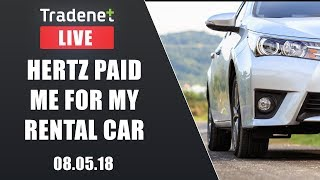 Day Trading Live - Hertz paid me for my rental car 399.77 MB