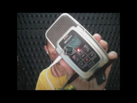 teste gravador zoom gravacao com qualidade