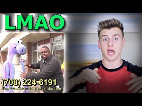 Jones Good Ass BBQ And Foot Massage Reaction (Hilarious Commercial)