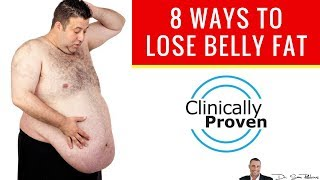 🍽️ 8 Clinically Proven Ways To Lose Belly Fat, Build Muscle & Look 10 Years Younger!