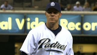ATL@SD: Peavy sets a Padres record with 16 strikeouts