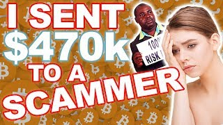 I was scammed $470,000 in bitcoin (INSANE) - Catfish Story episode #2