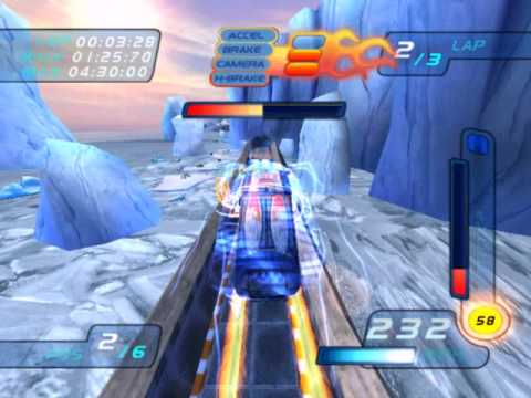 Hot Wheels World Race Level 14 of 15 Ice City