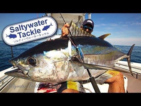 Jigging a Bigeye Tuna in the Canyons