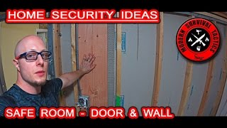 Safe Room Building Project / DOOR AND WALL - PART 1