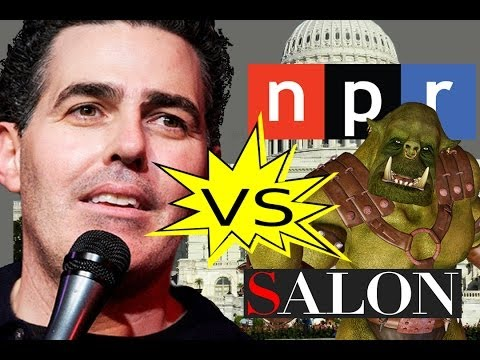 Adam Carolla vs. Patent Trolls, the Government, NPR, Salon, and more!