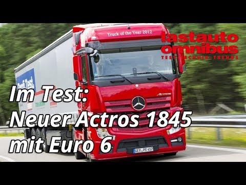 Mercedes Benz Actros 1845 Big Space